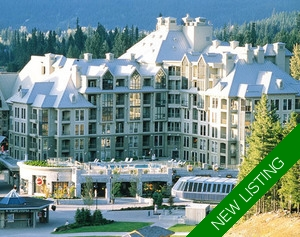 Jr. Suite FOR SALE at The Pan Pacific Mountainside, Whistler, B.C.
